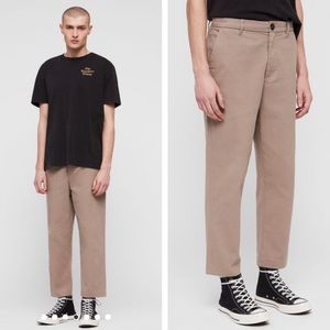 All Saints Porter Chino Crop Pants